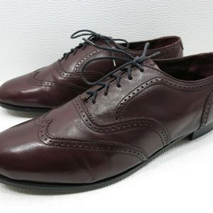Nunn Bush Burgundy Brogue Oxfords